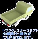トラック トラクター、コンバインの鍵作成