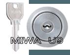 台 MIWA U9シリンダー