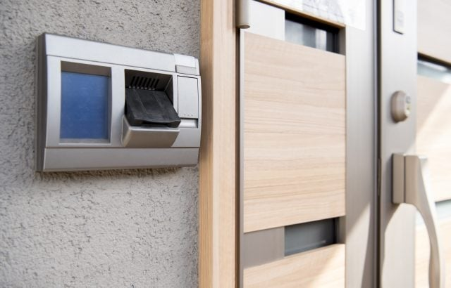 船橋市西船  マンション鍵開け 電子錠の自動施錠による締め出し対応