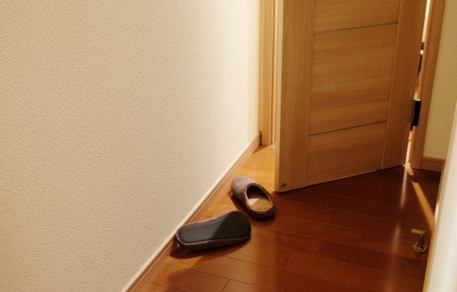 トイレドア開錠