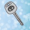 トヨタプロボックスの鍵