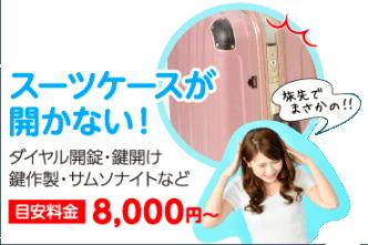 大田区羽田空港 税関 スーツケースが開かない